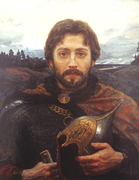 Victor Matorin - Vladimir Andreyevich (The Bold), prince of Serpukhov. In history prince Vladimir remained as brave and noble knight, one of the leaders of Russian fight for independence from the Golden Horde. Prince Vladimir Andreyevich was Russian military leader of the end of 14th century.