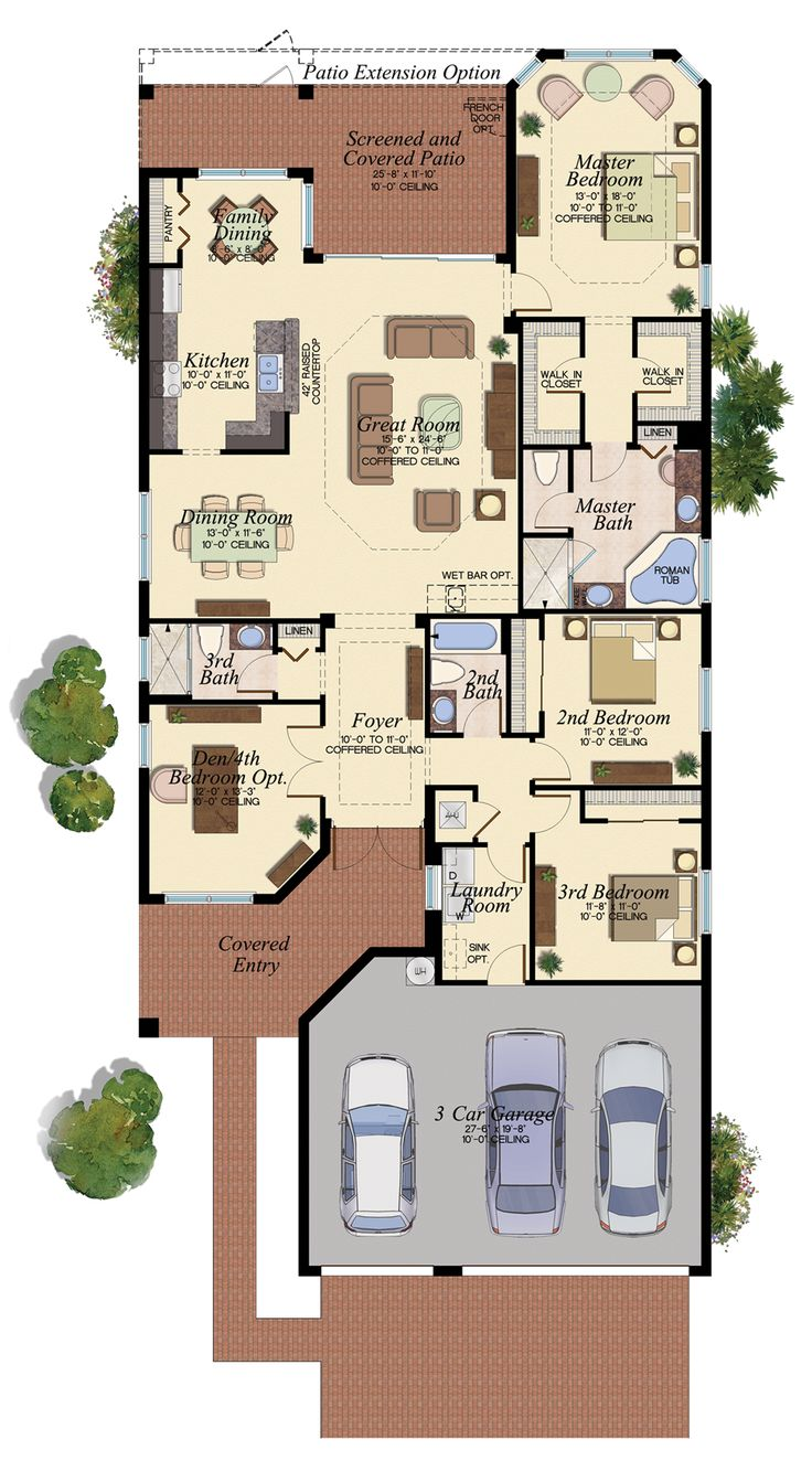 CABERNET/503 Floor Plan