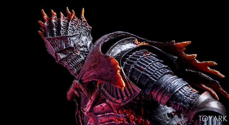 Dark Souls 3 - 1/6 Scale Souls of Cinder Statue by Gecco - Toyark Photo Shoot - The Toyark - News