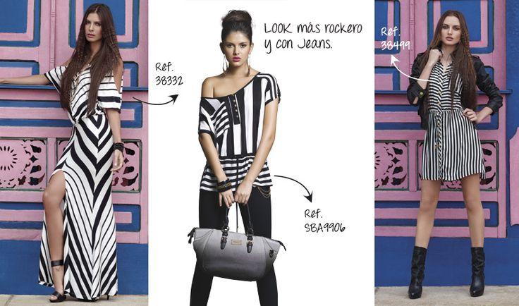 Le brinda a la mujer alternativas de moda.