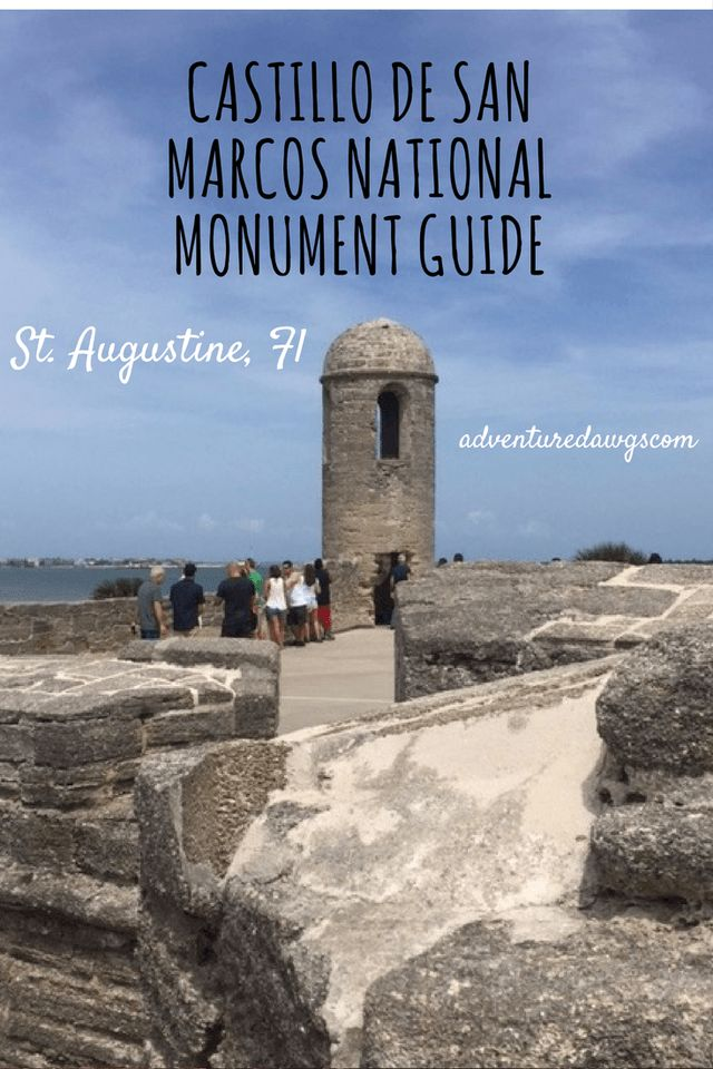 If you're looking for something both educational and fun to do with the kids, check out the adventuredawgs.com guide to the Castillo de San Marcos National Monument in St. Augustine, Florida for a history filled outdoor adventure in the Ancient City.
