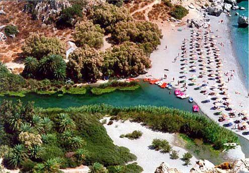 Preveli beach, Crete, GREECE  haha, this is not the crete I saw :P