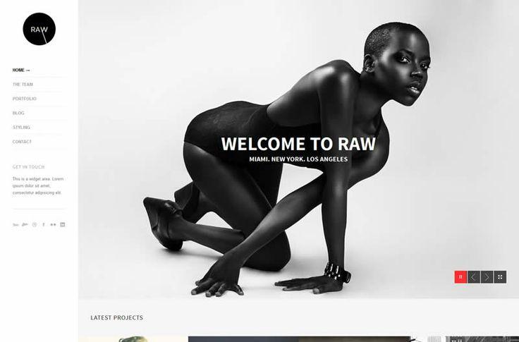 Raw HTML5 Template