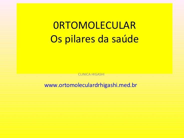 A medicina ortomolecular busca o equilíbrio natural do organismo, saiba sobre os pilares da medicina ortomolecular.