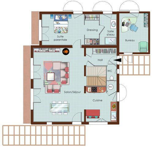 64 best Plan maison images on Pinterest Home plans, House