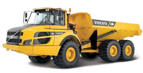 MODEL TIPPER TRUCK VOLVO A25G CONSTRUCTION TIPPER TRUCK DIECAST