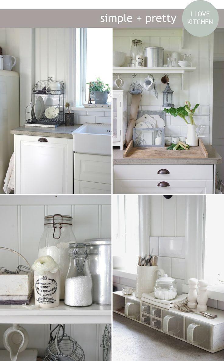 Shabby chic interiors kitchens abitazioni shabby chic for Interni abitazioni