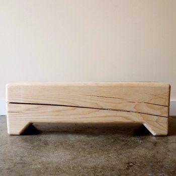 // bench: Block Benches, Mobilya Furniture, Trunks Benches, Wood Furniture, Stools Benches Ottoman, Wood Design, Wood Nature, Sustainable Design, Kalon Studios