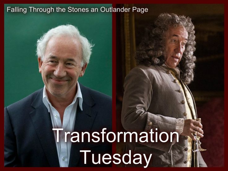 Simon Callow plays the Duke of Sandringham on #Outlander Starz series by Ronald D. Moore; Edits by Falling Through the Stones an Outlander Page on Facebook