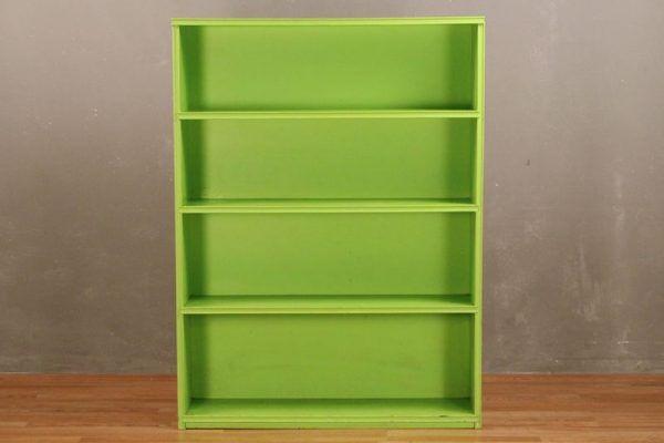 Lime Painted 4 Tier Bookshelf Lime Paint Green Bookshelves Bookshelves