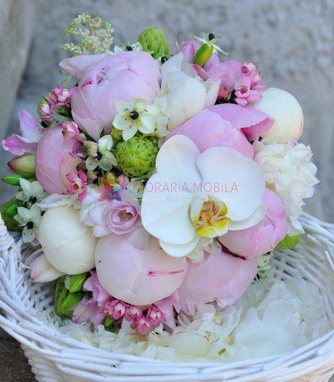 buchete de mireasa cu bujori / peonies wedding bouquet