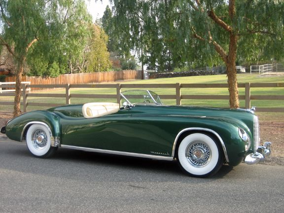 The gorgeous 1952 Maverick Sportster. Only 7 of these beauties were ever made!