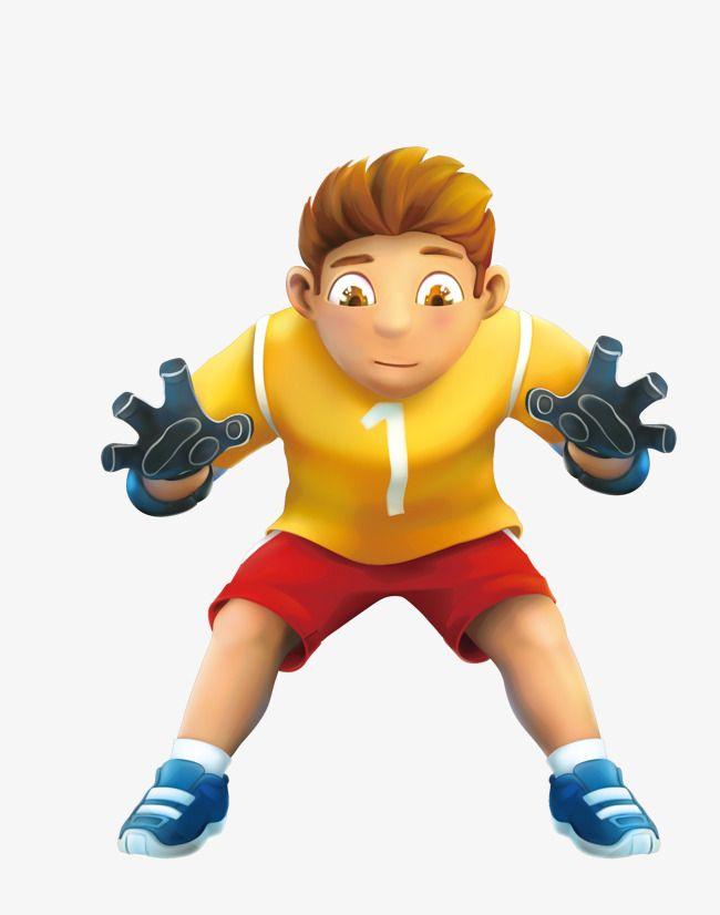 Bola De Futebol Amarelo Dos Desenhos Animados Goleiro Dos Desenhos Animados Goleiro Goleiro Bola Amarela Arquivo Png E Psd Para Download Gratuito Goalkeeper Cartoon Png