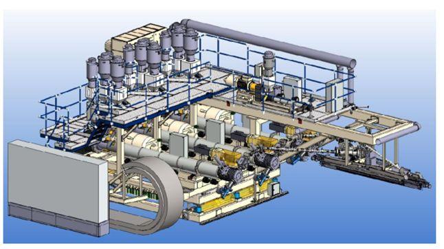 Extron PE-coating station