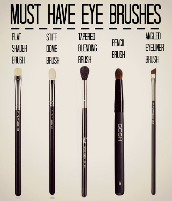 Must Have Eye Brushes  Brochas para maquillaje de ojos