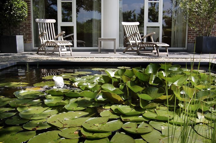 17 best klassieke tuin images on pinterest for Kleine tuinvijver