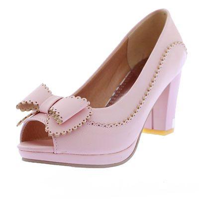 Enmayer 2014 женщин дамы открытым носком высокие каблуки платформы с бантом туфли на высоком каблуке бракосочетаний женской туфли на высоком каблуке размер обуви 34   39 купить на AliExpress