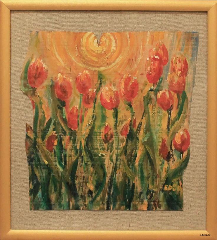 """Tulipany"" / ""Tulips"" 45x40 cm"