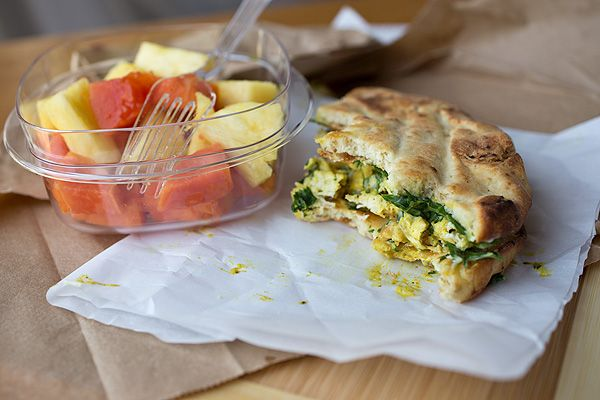 Sweet & Lightly Spicy Curried Chicken Salad Sandwich with Roasted ...