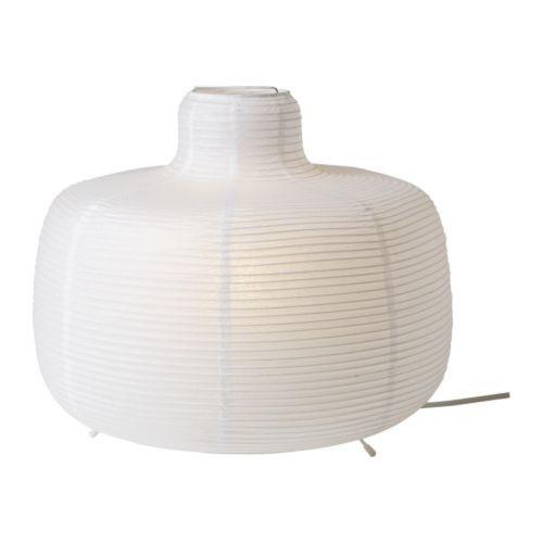 IKEA - VÄTE, Bordslampa, Ger ett mjukt stämningsljus.