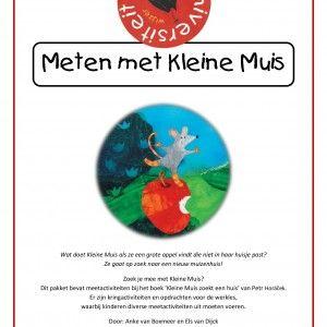 Meten-met-kleine-muis Zoek je mee met Kleine Muis? Dit pakket bevat meetactiviteiten bij het boek 'Kleine Muis zoekt een huis' van Petr Horáček. Er zijn kringactiviteiten en opdrachten voor de werkles, waarbij kinderen diverse meetactiviteiten uitvoeren.