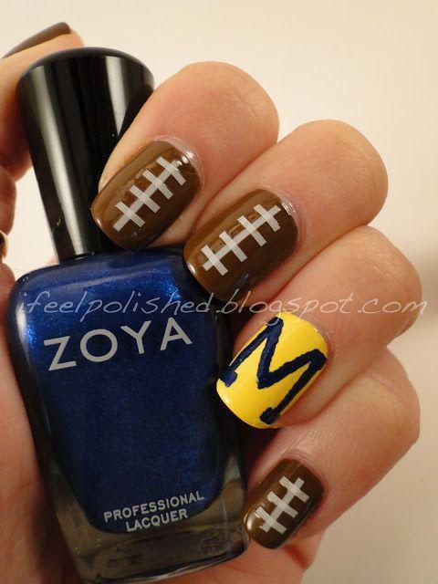 I'm totally doing for Michigan football season!!!!!! Love!!!