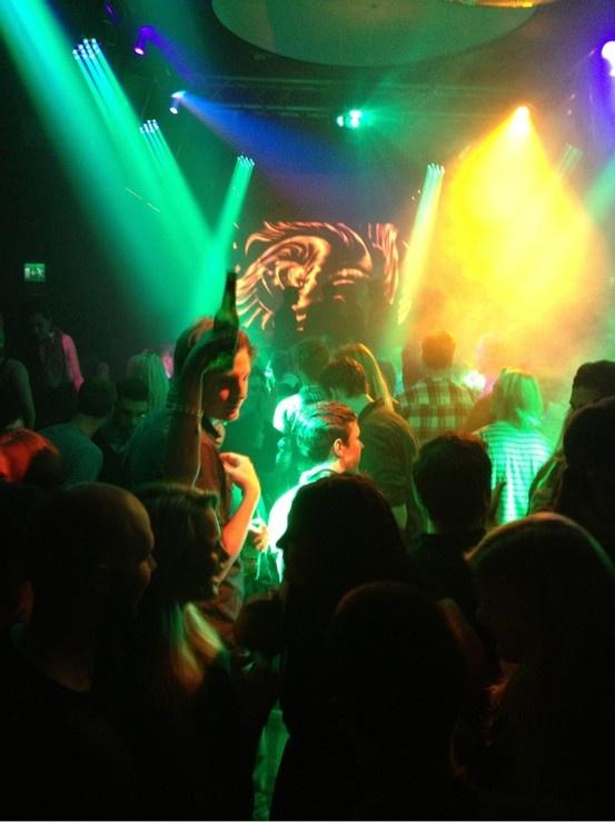 Party at Birger Jarl in Uppsala, Sweden.