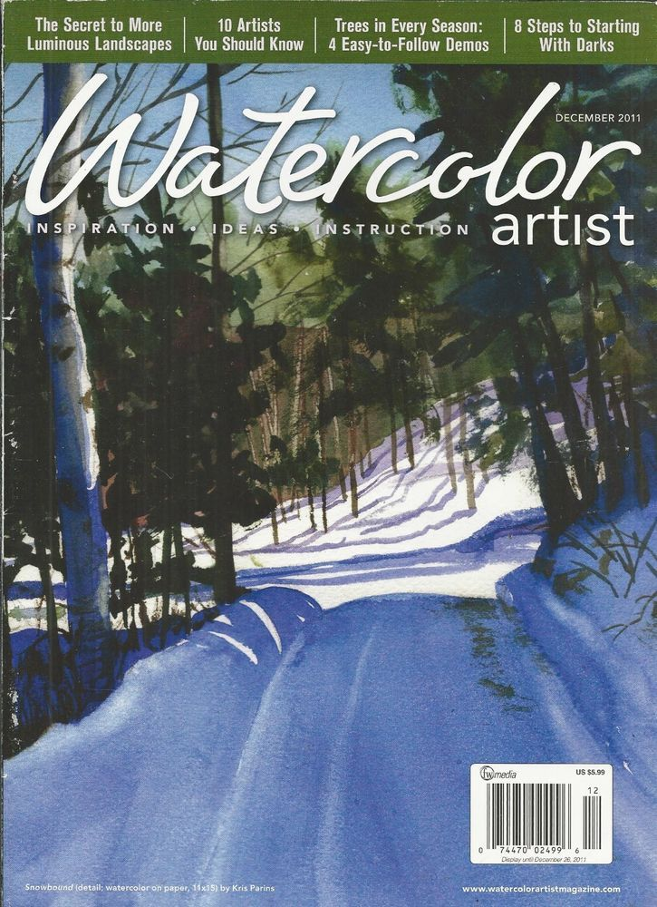 Watercolor Artist Magazine Luminous Landscapes Artists Seasonal