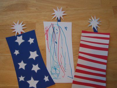 Fun Fourth of July craft to do with the kids.