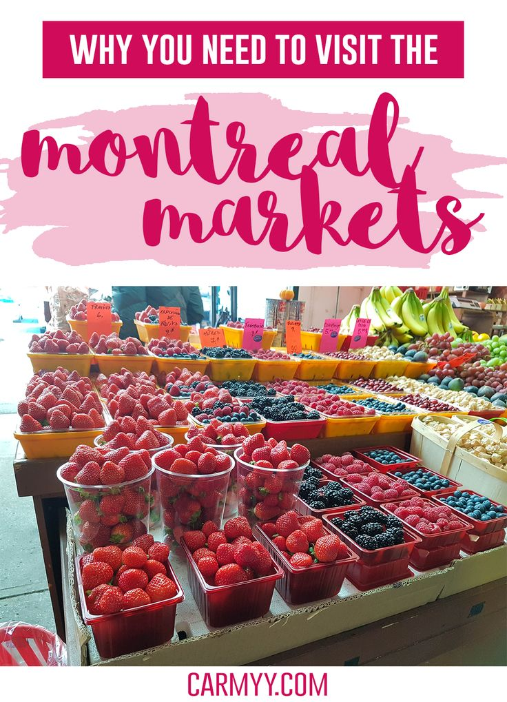 Why You Need to Visit the Montreal Markets! And a list of markets you must visit. via @runcarmyrun