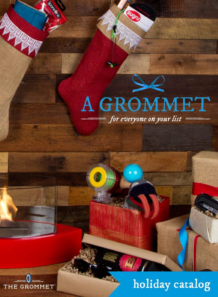 The best gifts aren't presents, they're grommets - find something for everyone on your list @The Grommet -- my favorite place to shop for the holidays