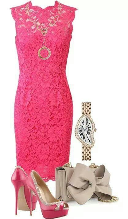 WHAT SHALL I WEAR ~~ TO A WEDDING?....https://www.pinterest.com/explore/pink-lace-dresses/