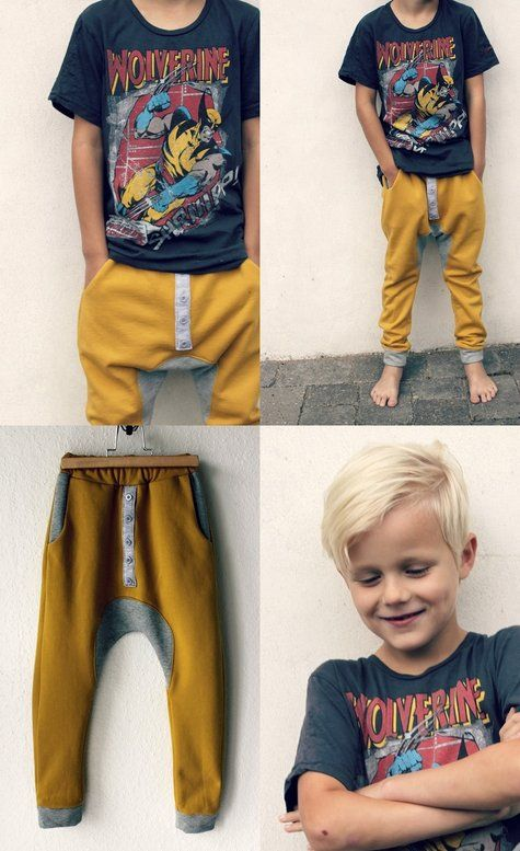 Drop crotch - Dafuq is a drop crotch!? and on a child? c'mon....... Looks like the kid has a load in his pants!