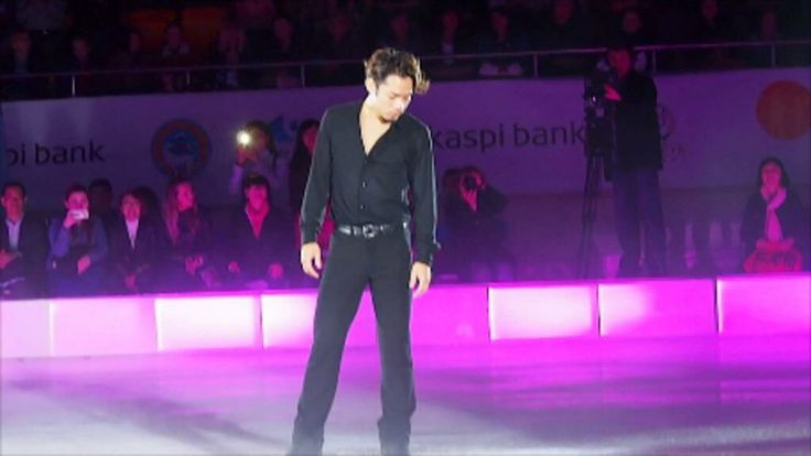 カザフスタンで行われていたアイスショーに出演した高橋大輔選手