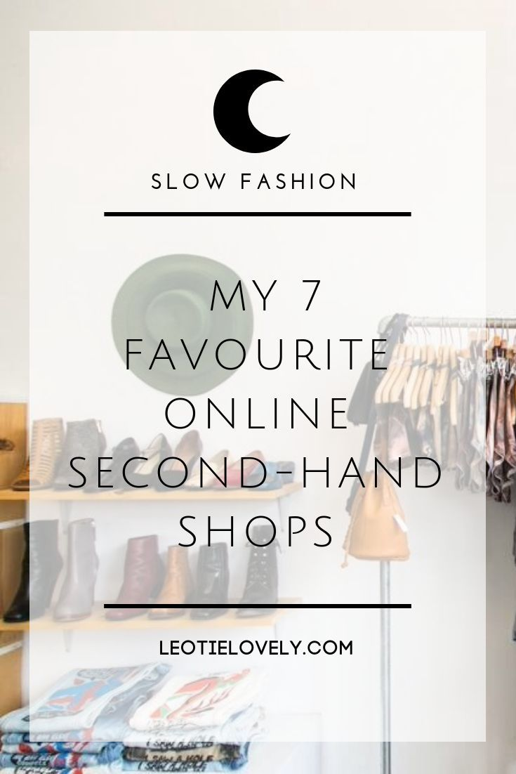 My 7 Favourite Online Second Hand Shops | Zero Waste | Eco