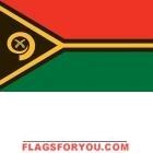 4' x 6' Vanuatu High Wind, US Made Flag