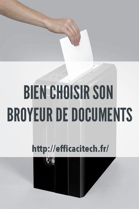 99% des usurpations d'identité sont réalisées avec des documents papier. Il est donc important de vous protéger en vous munissant d'un broyeur de documents.