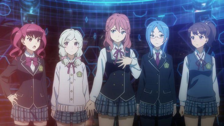 Schoolgirl Strikers: Animation