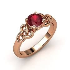 celtic ring modern rose gold - Google Search