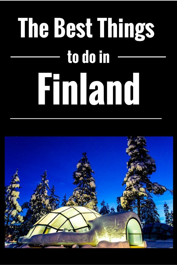 The best things to do in Finland in the Winter