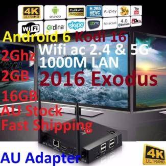 KIII K3 2016 Exodus 4K Android 6Box 2Ghz 2G 16G Kodi 16 ac Wifi | Other Electronics & Computers | Gumtree Australia Manningham Area - Doncaster | 1118101584