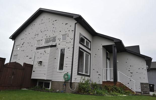 Hail Damage House Edition Not A Good Addition Wind
