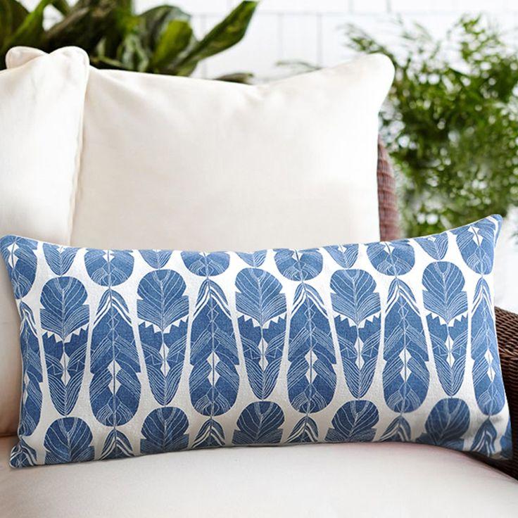 throw pillow 全棉仿麻腰枕 靠枕 沙发枕 休息枕 含芯 活性印花 H0001-淘宝网