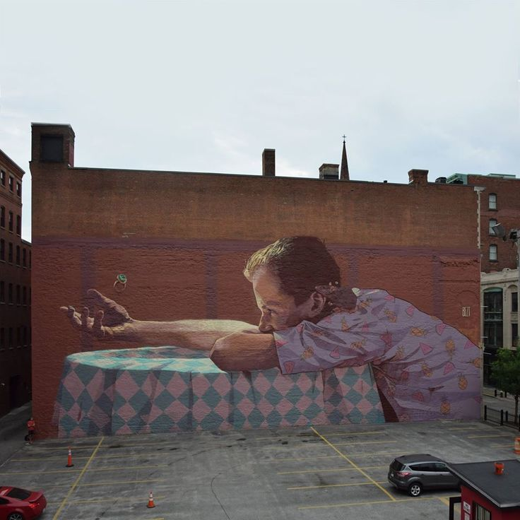 BEZT creates a large new mural in Providence, USA