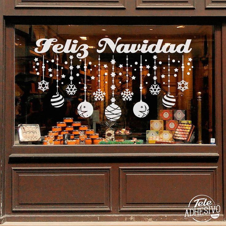 Vinilos Decorativos: Decoración Feliz Navidad 2