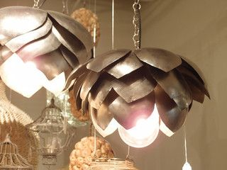 Eclectic Pendant Lighting- this is exactly what I was looking for my room!!!