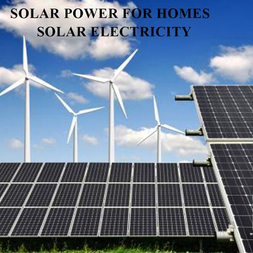 Solar Power For Homes In India - Solar Electricity powered by Wind Voltz Energy Pvt. Ltd #Kerala #India #solarpower #solarenergy #Electricity