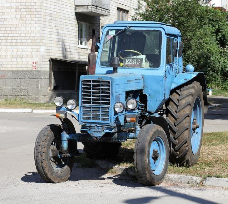 МТЗ-80, который стал самым популярным отечественным трактором