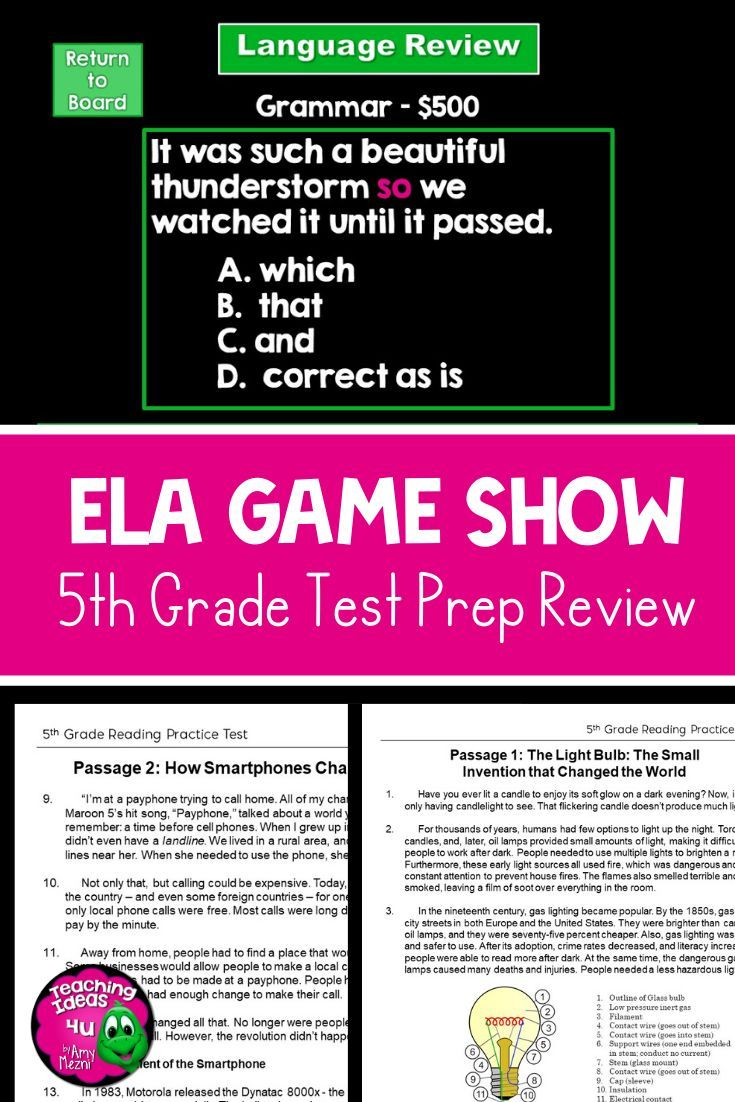 Pin On School Fsa reading practice grade answer