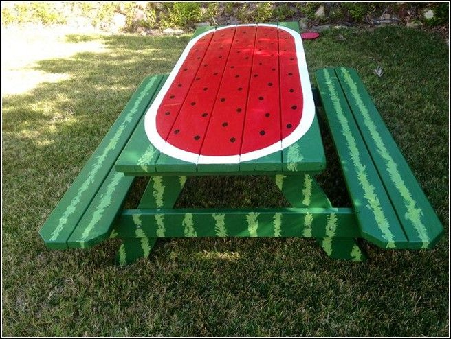 17 Best Ideas About Kids Picnic Table On Pinterest